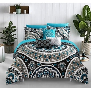 Chic Home Gaston 10 Piece Bed in a Bag Comforter Set