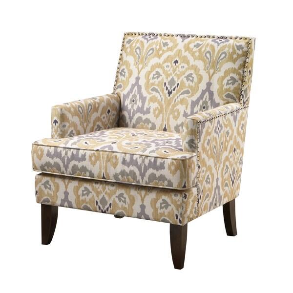 Madison Park Charlie Grey Multi Track Arm Club Chair 27892325