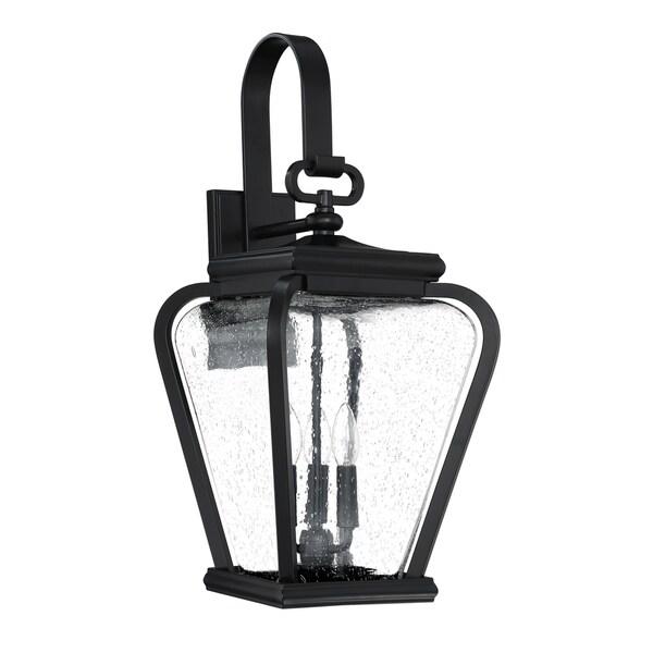 Quoizel Province Mystic Black Jumbo Outdoor Wall Lantern 27893255