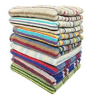 Ruthy's Textile 100-percent Cotton Bath Towels (Multiple pack sizes available)