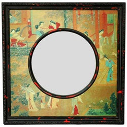 Village Scene Mirror (China)