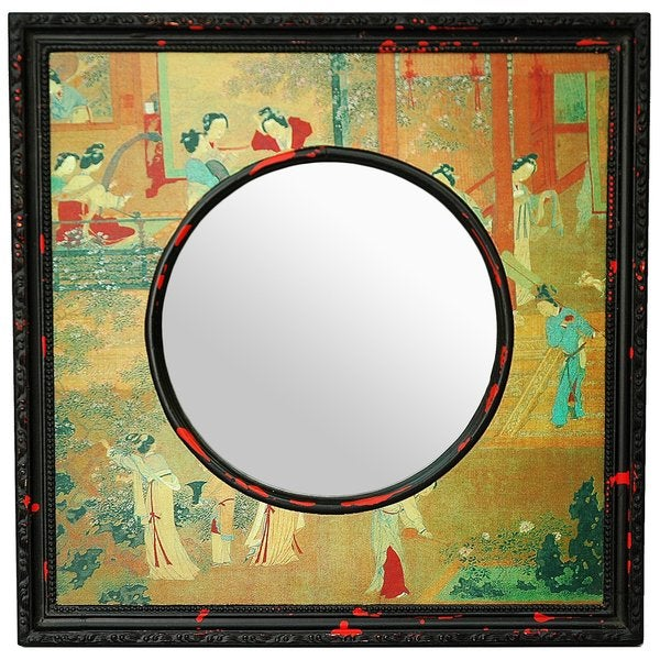 Village Scene Mirror (China)