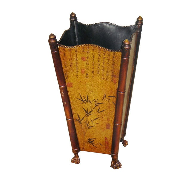 Bamboo Print Umbrella Stand (China)