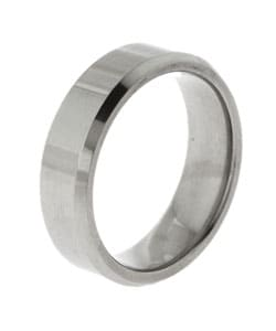 Men's Titanium Polished Band (7 mm)