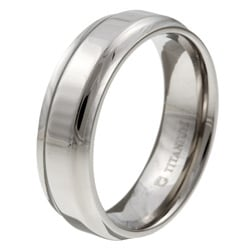 Men's Titanium 7 mm Band