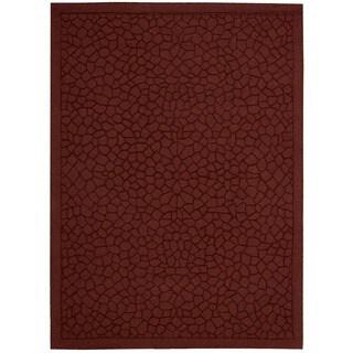 Nourison Barclay Butera Hand-tufted Brick Rug (7'9 x 9'9)