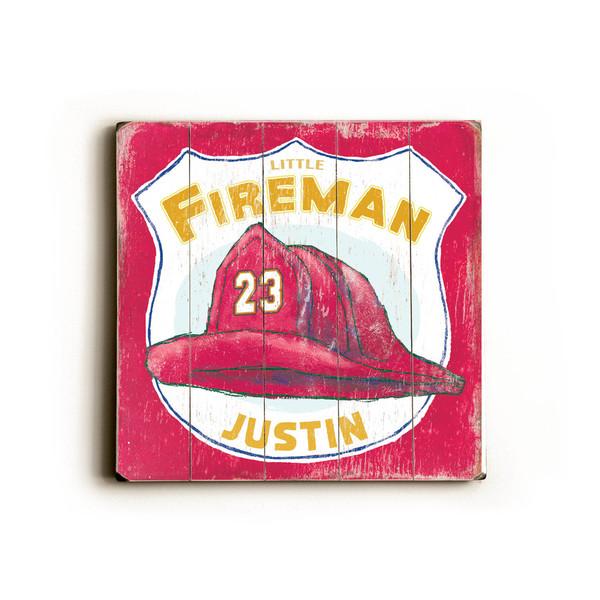 Little Fireman - Wood Wall Decor by FLAVIA 27903461