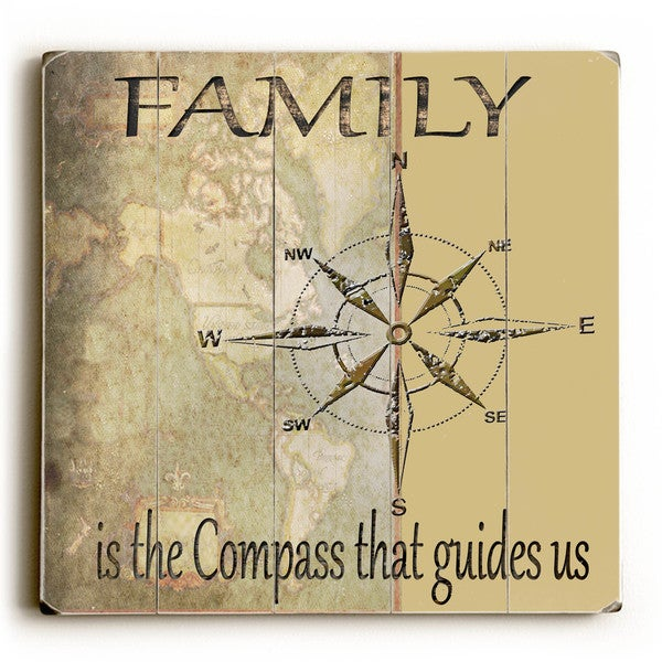 Family Is - Wood Wall Decor by Karen Williams - Planked Wood Wall Decor 27904036
