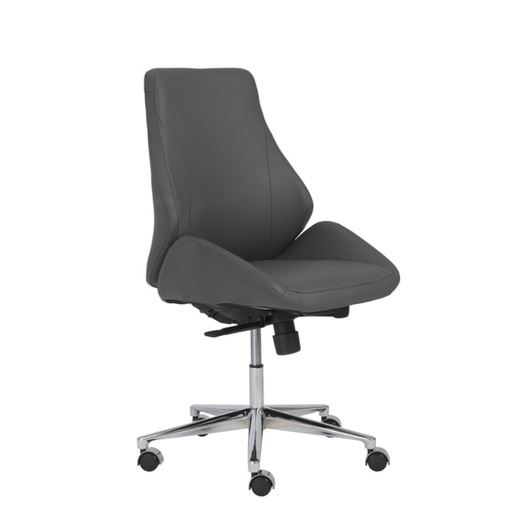 Euro Style Bergen Armless Low Back Office Chair 27904399