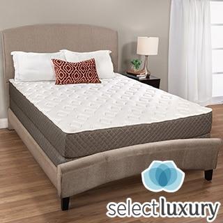 Select Luxury Medium-firm Quilted Top 8-inch Queen-size Foam Mattress