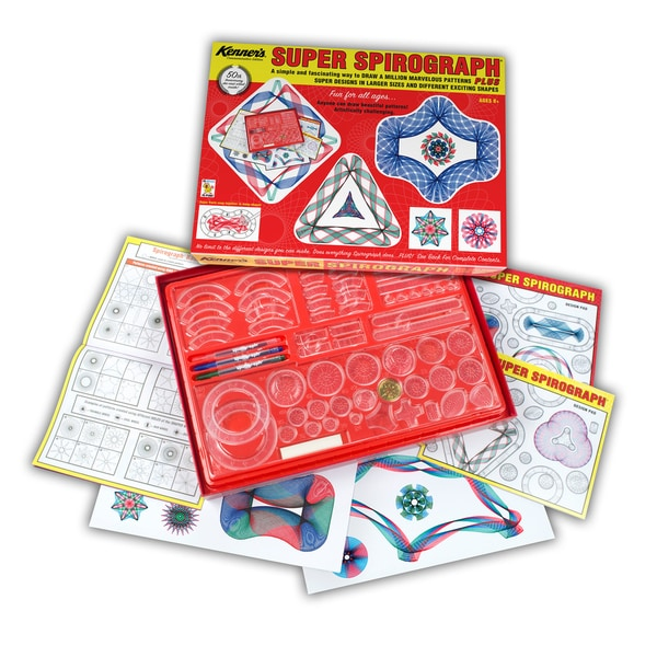 Kahootz Toys The Original Super Spirograph Retro 27948543