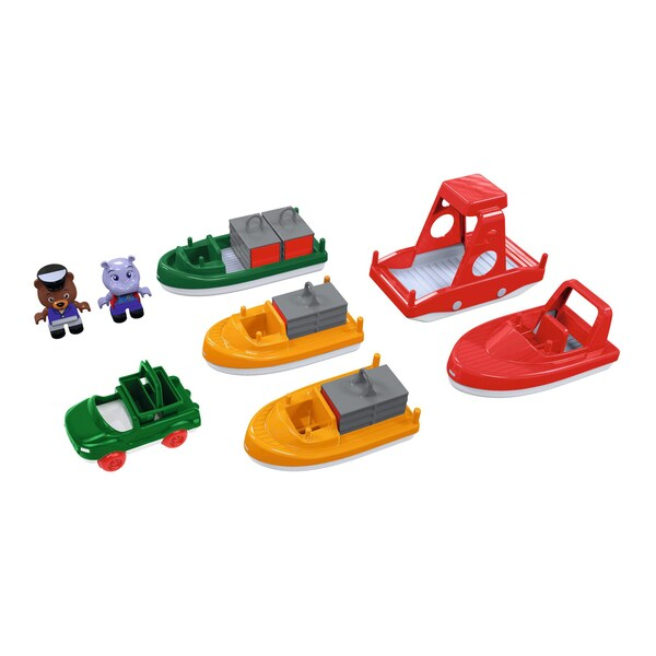 Aquaplay Boat Pack with 2 Figures 27970138