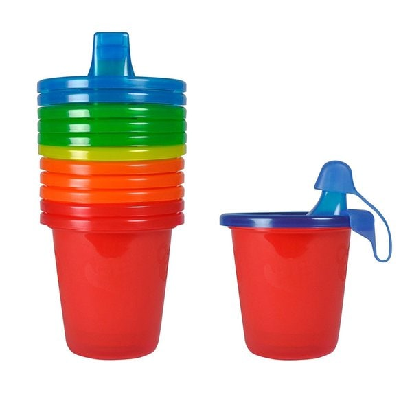 The First Years Red Take and Toss 7-ounce Spill Proof Cups 27990310