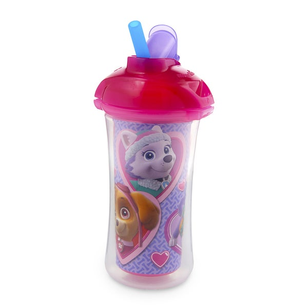 Munchkin Pink Paw Patrol Click Lock Insulated Straw 9-ounce Cup 27990327