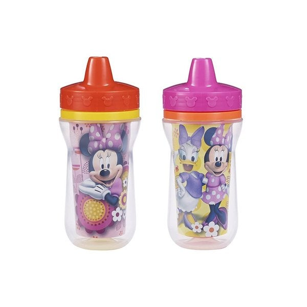 The First Years Minnie Mouse Insulated 9-ounce Sippy Cups (Pack of 2) 27990432