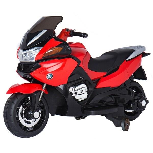 Red 12-volt Children's Motorcycle 27991590