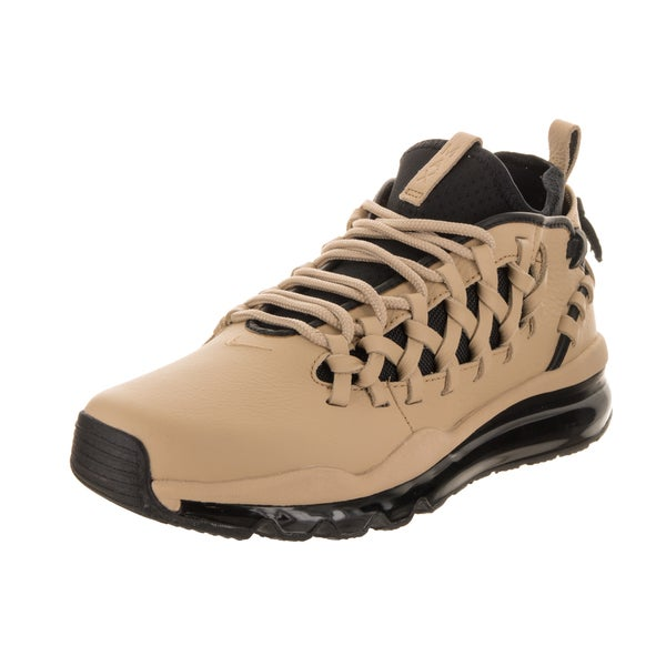 Nike Men's Air Max TR17 Beige Leather Training Shoes 28019737