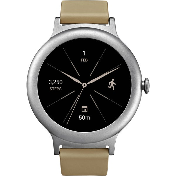 LG Watch Style Smartwatch LG-W270 with Android Wear 2.0 & Gorilla Glass 3 - Silver