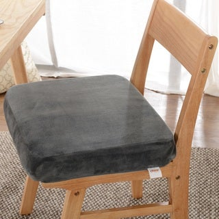 Cheer Collection Ultra Supportive Memory Foam Extra-Large Seat Cushion