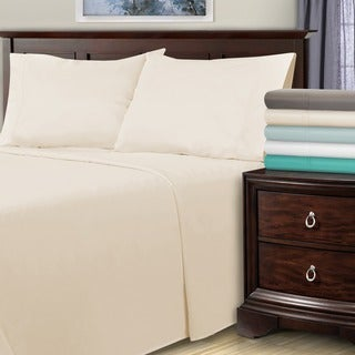 Superior 1800 Thread Count Deep Pocket Cotton Blend Bed Sheet Set