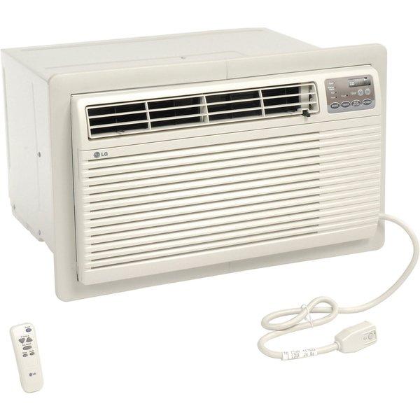 LG LT1036HNR 10,000 BTU 220V Thru-the-Wall Air Conditioner with Heat (Refurbished) - White 28224272