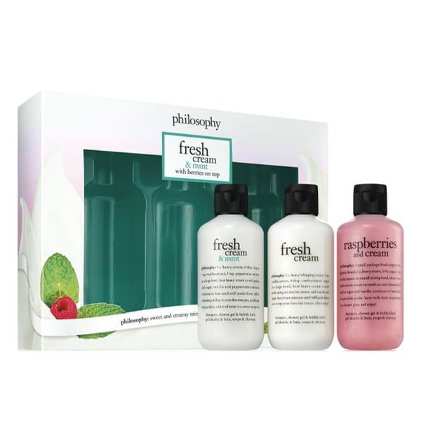 Philosophy Fresh Cream & Mint with Berries On Top Trio 28242710