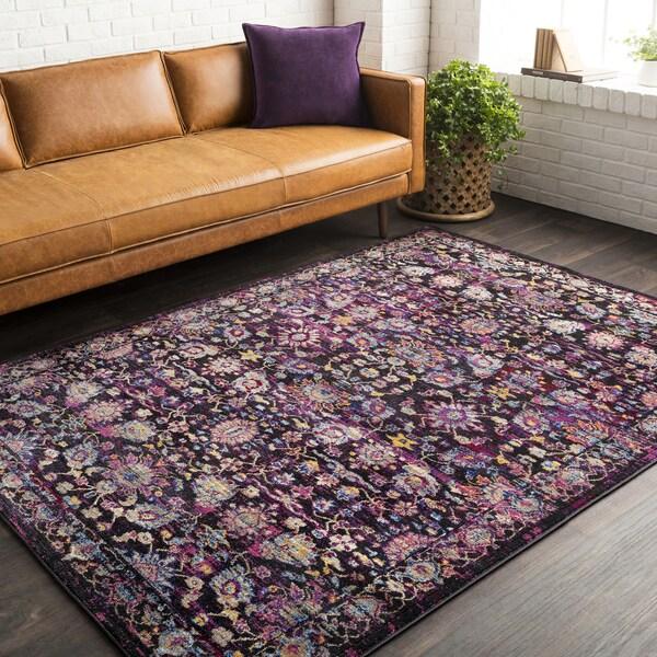 """Haute Hali Pink Vintage Oriental Area Rug (9'3"""" x 12'1"""") 28248161"""
