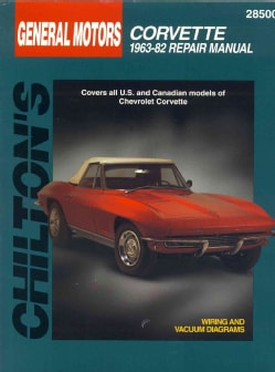 Chilton's Gm Corvette 1963-82 Repair Manual (Paperback)