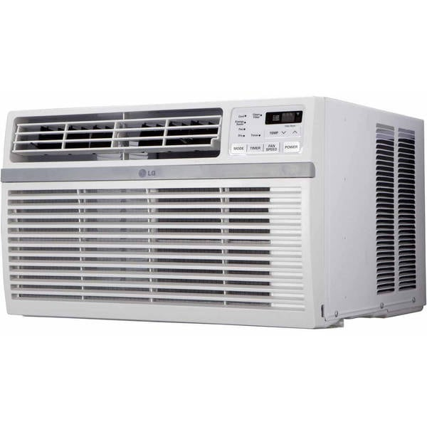 "LW6016R 19"""" Window Air Conditioner with 6000 BTU Cooling Capacity  3 Cooling and Fan Speeds  Auto Cool  2-Way Air Direction  Electronic Touch Controls  and 200"" 704313"