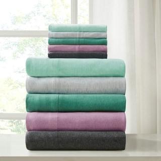 Urban Habitat Heathered Cotton Jersey Knit Bed Sheet Set