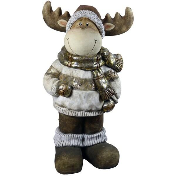 Alpine Christmas Reindeer Statuary 28279143