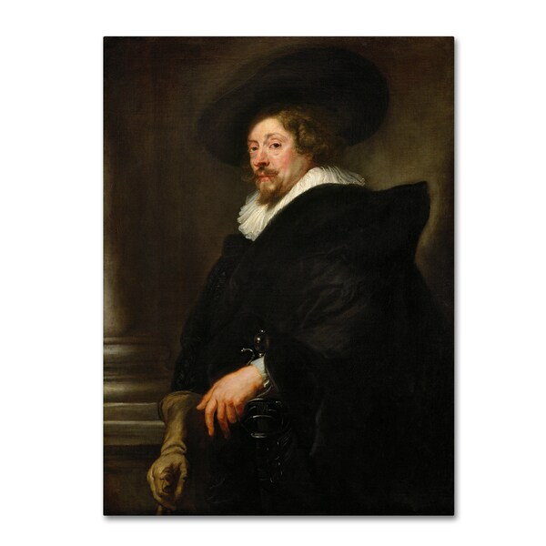 Peter Paul Rubens 'Selfportrait' Canvas Art 28283970