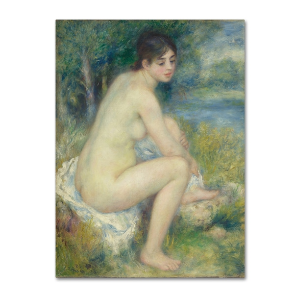 Renoir 'Female Nude' Canvas Art 28284302