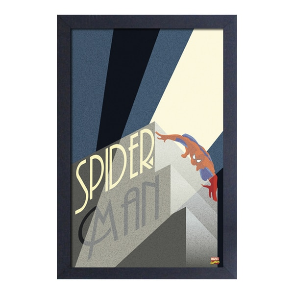 Spider-Man - Art Deco Light 28284313