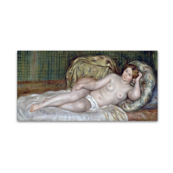 Renoir 'Large Nude' Canvas Art 28287951