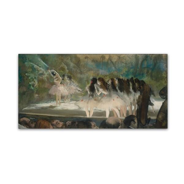 Degas 'Ballet At The Paris Opera' Canvas Art 28288052