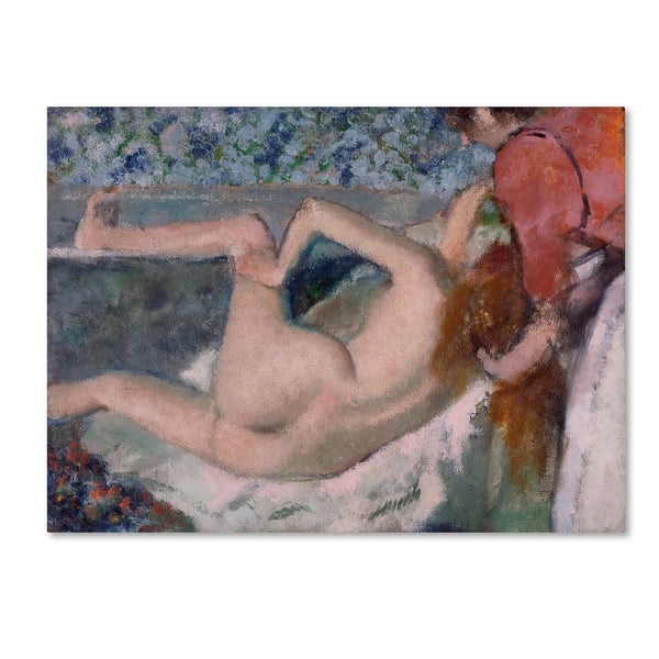 Degas 'After The Bath' Canvas Art 28314381