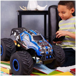 The Outlaw Big Wheel Off-Road 4x4 1:8 RTR Electric RC Monster Truck- Blue 28321939