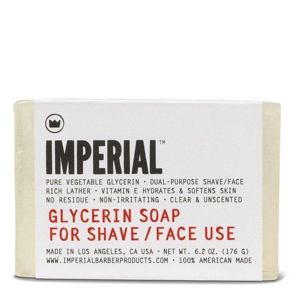 Imperial Barber 6.2-ounce Glycerin Bar Shave/Face Soap 28324529