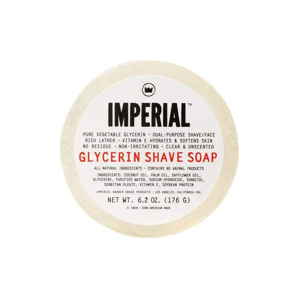 Imperial Barber 6.2-ounce Glycerin Puck Shave/Face Soap 28324566