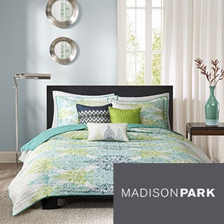Madison Park Mali 6-piece Quilted Coverlet Set