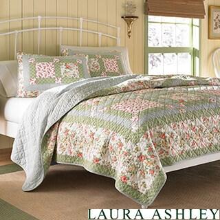 Laura Ashley Abbot Patchwork Quilt