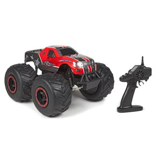 The Outlaw Big Wheel Off-Road 4x4 1:8 RTR Electric RC Monster Truck - Red 28385059