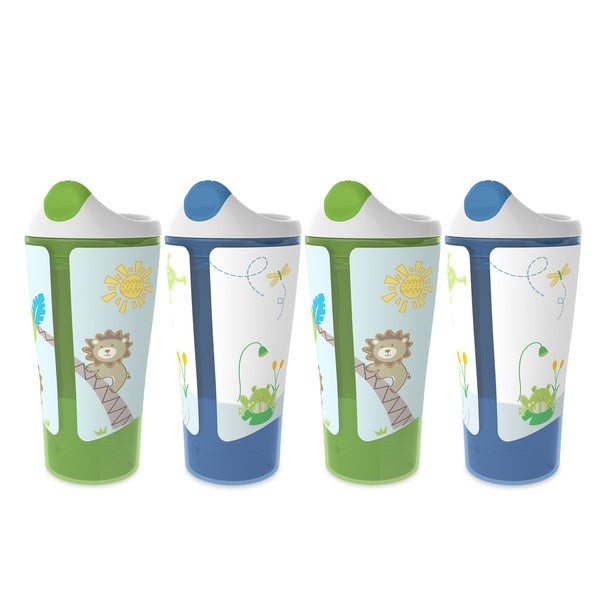 BPA-Free Grow with Me 10 Ounce Sippy Cup, 4 Count 28390980