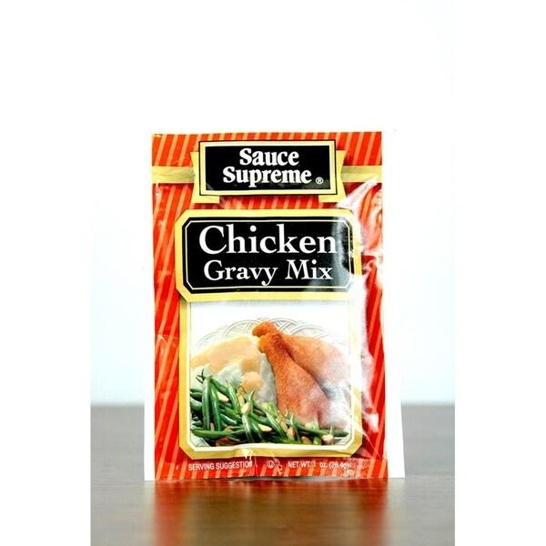 Pack of 24 Sauce Supreme Chicken Gravy Seasoning Mix 1 oz. 30004 28393153