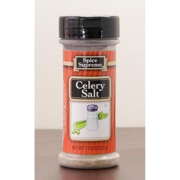 Club Pack of 12 Spice Supreme Celery Salt Seasoning 7.5 oz. #30450 28393223