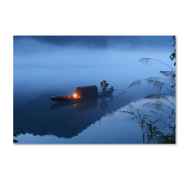 Adam Wong 'Dong Jiang Lake' Canvas Art 28434411