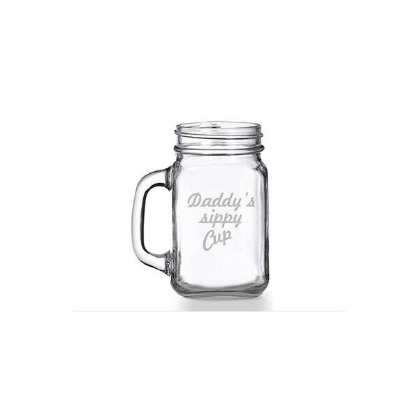Daddy's Sippy Cup Mason Jar Mug (Set of 4) 28436567