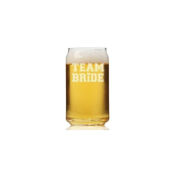 Team Bride Tall Can Glass 28437795