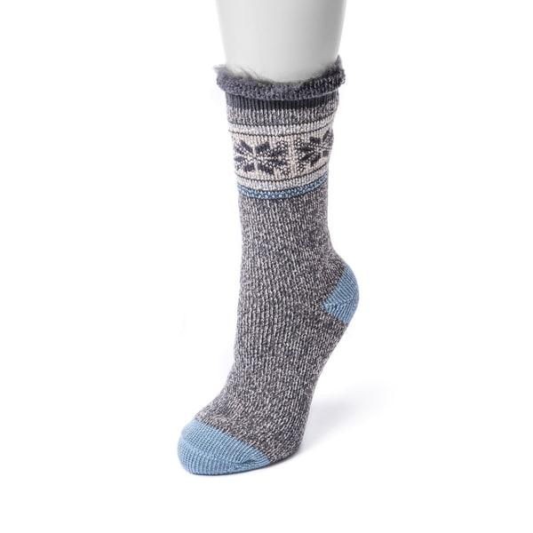 MUK LUKS Women's 1-Pair Heat Retainer Thermal Socks 28444769